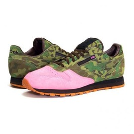 Reebok - SHOE GALLERY × REEBOK CLASSIC LEATHER FLAMINGOS AT WAR