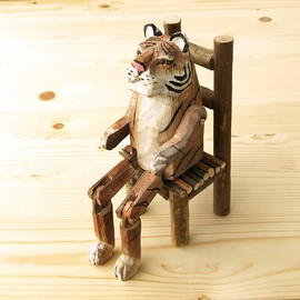 Wood Animal Toy (Tiger)