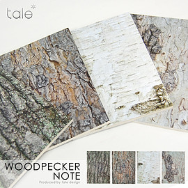 tale design - Woodpecker note