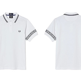 STUSSY, FRED PERRY - Pique Shirt