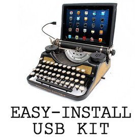 USB Typewriter - Easy-Install Conversion Kit - Make your own USB Typewriter