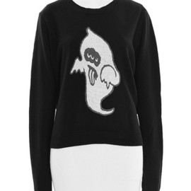Candy Stripper - DROLL GHOST  KNIT TOPS