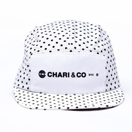 Chari & Co. NYC - Chari & Co.   Polka Dot 5 Panel Cap