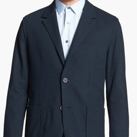 Lanvin - Lanvin Deconstructed Wool Blazer in Blue for Men (Green)