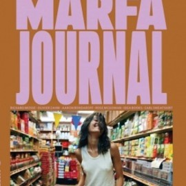 MARFA - MARFA JOURNAL #2