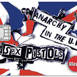 Virgin Money - Sex Pistols Credit Card