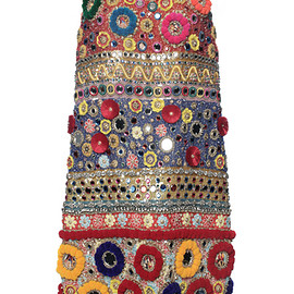 DOLCE&GABBANA - SS2016 Carretto Cocktail Dress With Embroidered Pom Poms