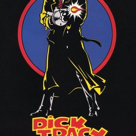 Dick Tracy Movie Poster. artwork by Johnny Kwan