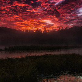 Canada - Sunrise at Algonquin
