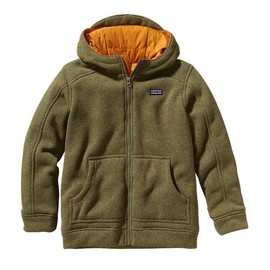 Patagonia - Patagonia Boys\' Insulated Better Sweater Hoody - Fatigue Green FTGN