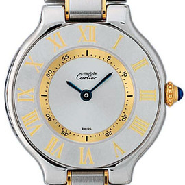 Cartier - 21 Must De Cartier Ladies Wristwatch Model: W10073R6