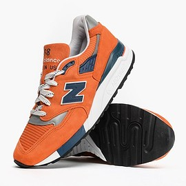 New Balance - M998CTL - Orange/Obsidian/Grey?