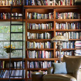wall library