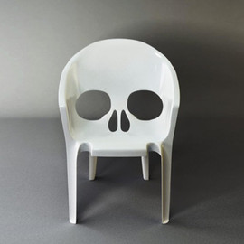 skull furniture designs - Skull Garden Chair