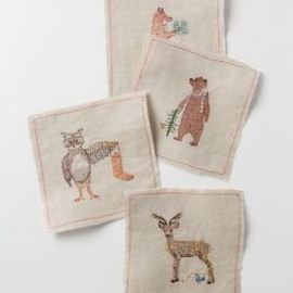 Woodland Gifts Napkin Set