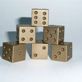 Breeden Creations - Solid Brass Dice
