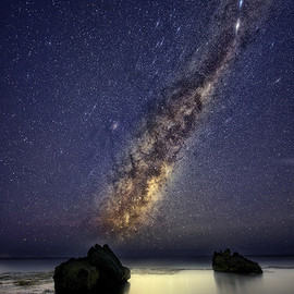 Forresters Beach Milky Way
