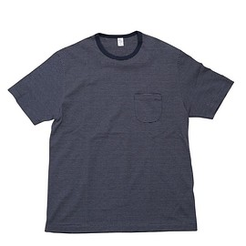 ENDS and MEANS - Pocket Border Tee