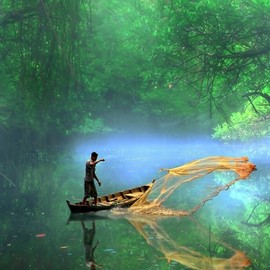 Indonesia - Misty River
