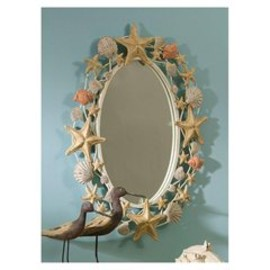 Shell Metal Mirror