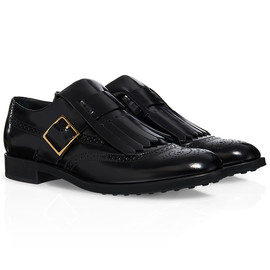 TOD'S - Leather Monk-strap Shoes