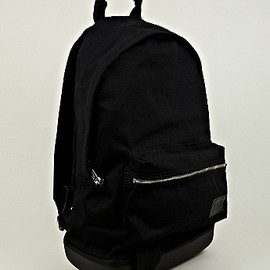 EASTPAK, KRIS VAN ASSCHE - Cotton Backpack in Black