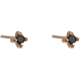 Wendy Nichol - Black Diamond Stud Earrings