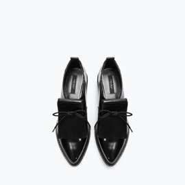 ZARA - BLUCHER WITH FRINGES