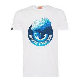 Stanley Kubrick Collection - A Clockwork Orange, White Korova Milk Bar T-shirt