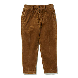HEAD PORTER PLUS - CORDUROY PANTS CAMEL