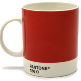 PANTONE - Mug Pantone Red by Jackie Piper & Victoria Whitbread