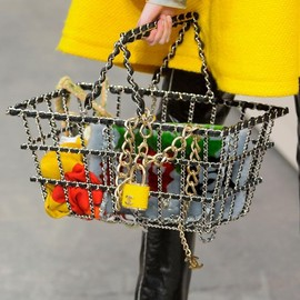 CHANEL - Fall 2014 basket and padlock accessory