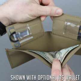 ITS Tactical - Hypalon Concealment Wallet - Coyote
