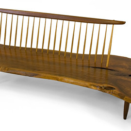 George Nakashima - Wooden Bench, c.1959
