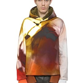 Givenchy - Hooded Printed Cotton Sweatshirt