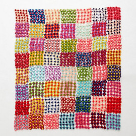 ANTHROPOLOGIE - Daisy Patchwork Throw