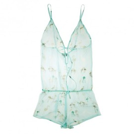 Journelle - Flamingo Drop Back Playsuit