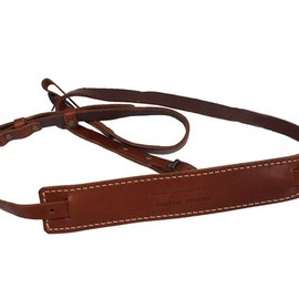 Leather Factory Roberu - CAMERA STRAP (streething x LEFTFOOT)