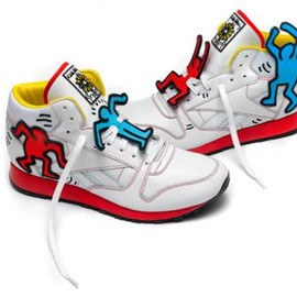 Reebok - KEITH HARING × REEBOK CLASSIC CLASSIC LEATHER MID LUX ANTIC EVERYMAN