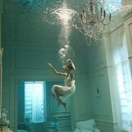 diving into the room