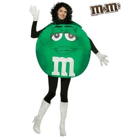 M&M's - M&M's Costume, M&M's Green Halloween Costume