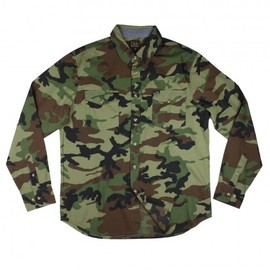 OBEY - Field Assassin LS Button Up Shirt - Woodland?
