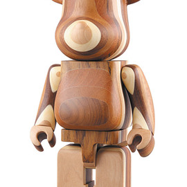 MEDICOM TOY - 400% LAYERED WOOD BE@RBRICK