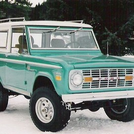 Ford - 1971 Ford Bronco