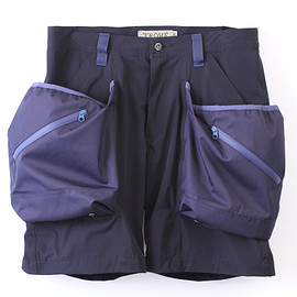 TROVE - BIG POCKET SHORTS Ver:6 ( TYPE ACTIVE-4WAY ) / NAVY
