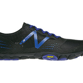 New Balance - Minimus Zero Trail, Black with Blue
