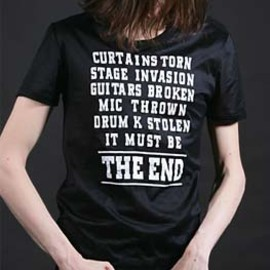 "DIOR HOMME - 05A/W ""THE END"" T Shirt"