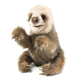 Folkmanis - Hand puppet Sloth
