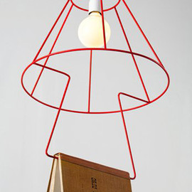 modern book lamp design in stylish appearance