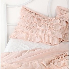 Svpply - Waterfall Ruffle Shams